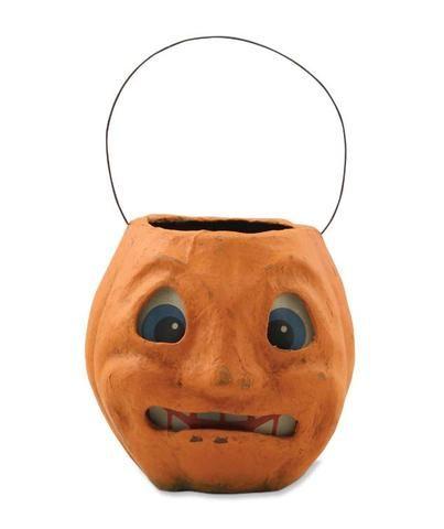 Scary Vintage Pumpkin Bucket Not So Spooky Halloween! Pinterest - not so scary halloween decorations
