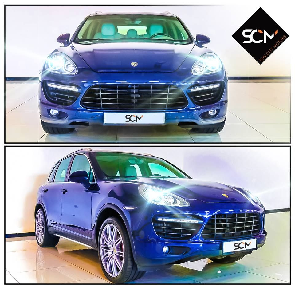 The Porsche Cayenne Turbo 2012 Available @suncitymotors
