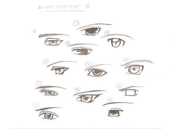 Anime Guys Eyes Pic Ur Fav Anime Guys Eye Drawing Guy Drawing