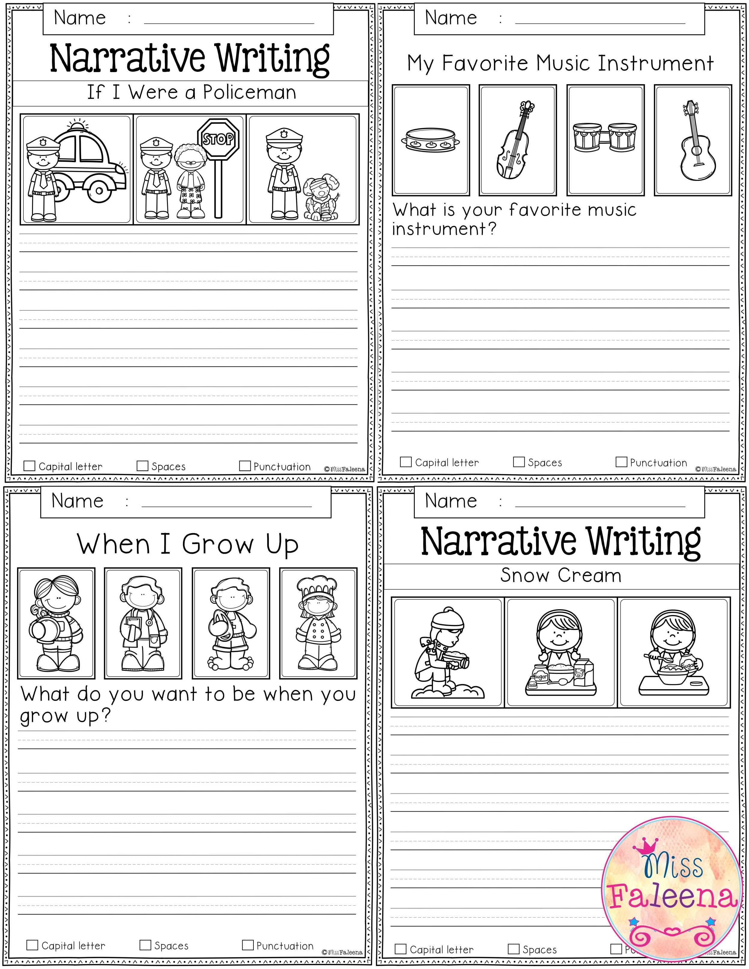Free Writing Prompts Contains 20 Free Pages Of Writing