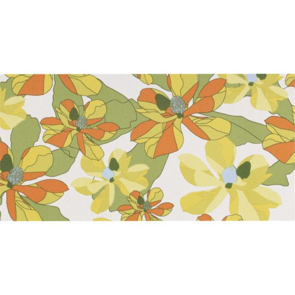 Marimekko Palma Horizontal Fabric Wall Art ($75) ❤ liked on ...