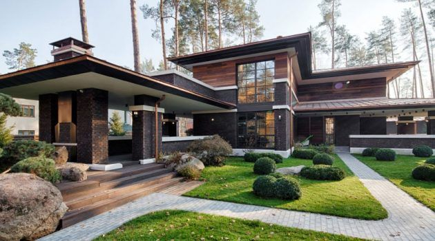 A Contemporary Prairie House By Yunakov Architecture In Kiev