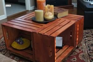 hickory furniture - craigslist | Coffee table made from ...