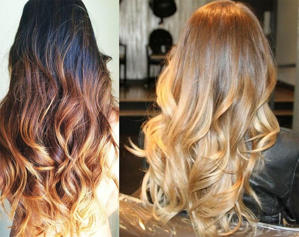 Schone bunte haarfarben
