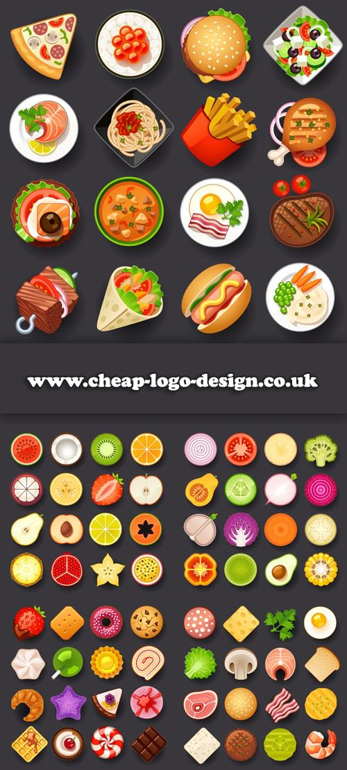 Food icons suitable for recipe blogs cheap logo design food icons suitable for recipe blogs cheap logo design forumfinder Images