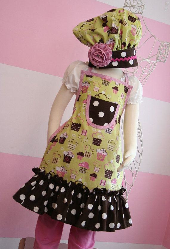 Kids Apron and Chef's Hat