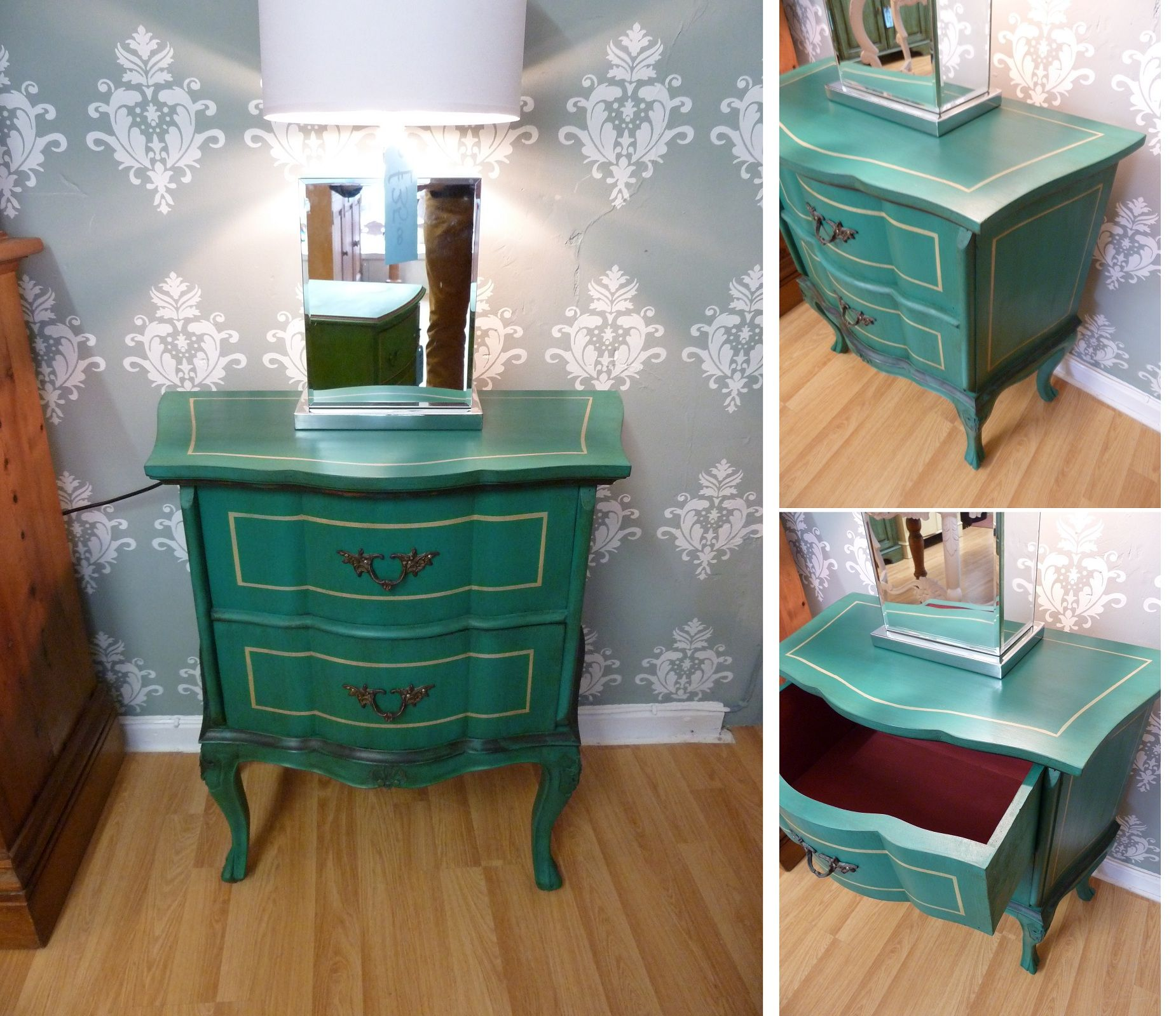 Chalk Paint For Kitchen Cabinets Uk: Vintage French Cabinet Painted With Annie Sloan Chalk