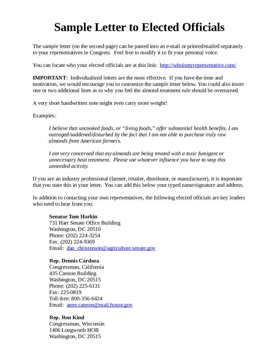 2018 formal letter templates fillable printable pdf forms handypdf