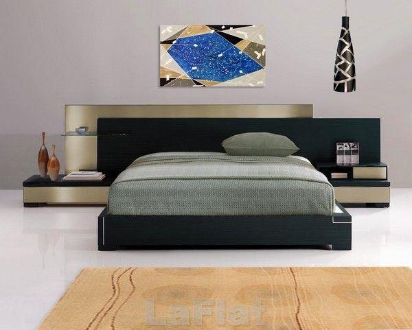 Modern-Contemporary-Wenge-Bedroom-Set-Barcelona-Platform-Bed