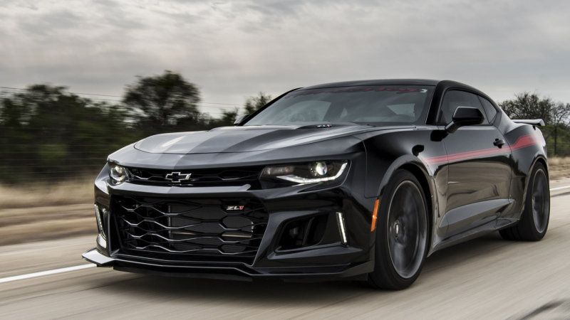 Hennessey Exorcist Camaro Does 217 Mph In Video Chevrolet Camaro