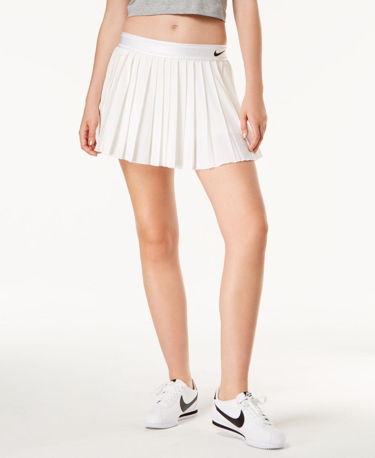 Nike Women S Court Dri Fit Pleated Tennis Skort White Tennis Skirt Outfit Pleated Tennis Skirt Tennis Skort