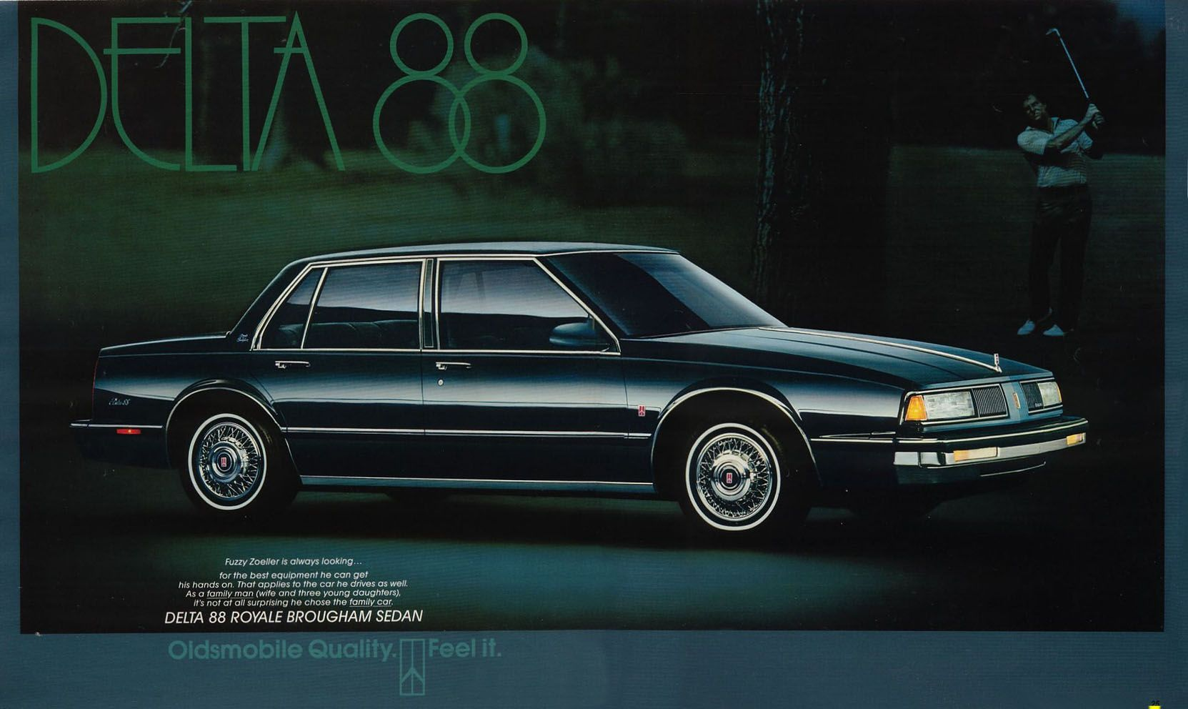 87 Oldsmobile Delta 88... I want to get one and slam it down.
