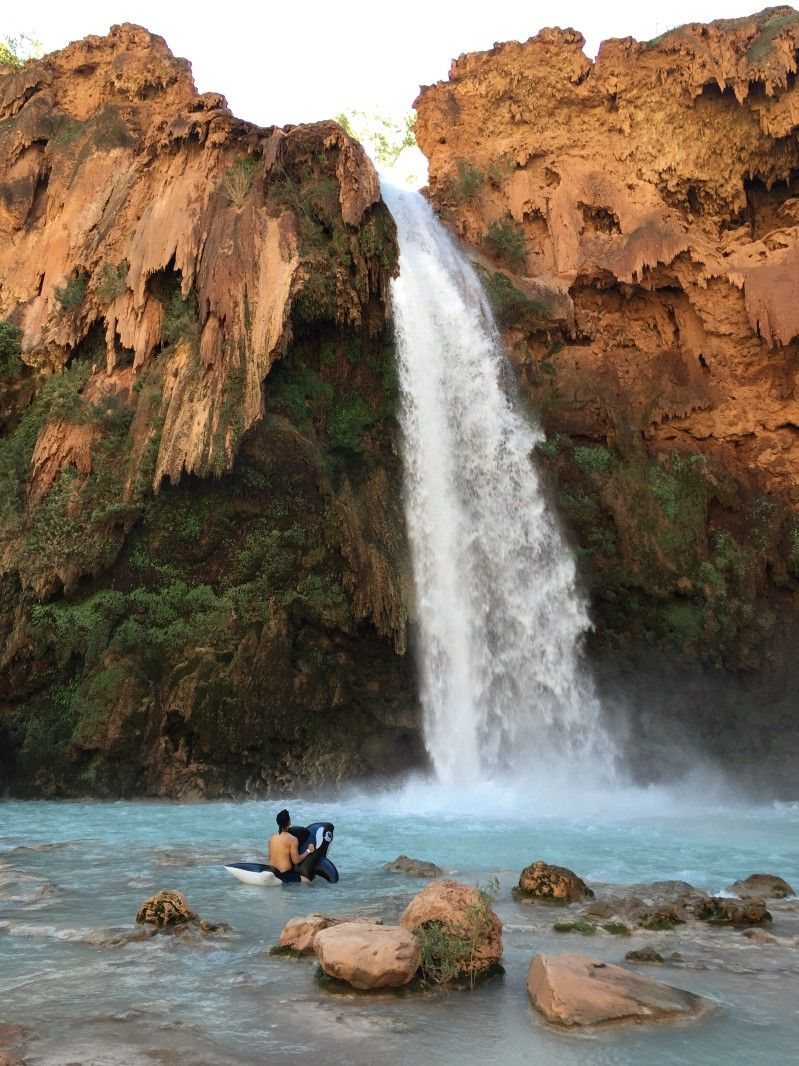 db1f0b2b7e7f First time experience backpacking to Havasupai Falls and gear that may help  you plan for your trip — BetaExplorer Digest — Medium