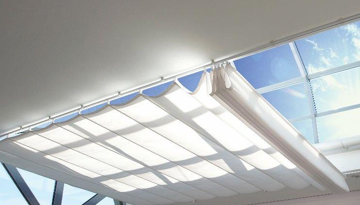 Sunola® verduistering voor lichtstraten en hellend glas,  verkrijgbaar bij smuk