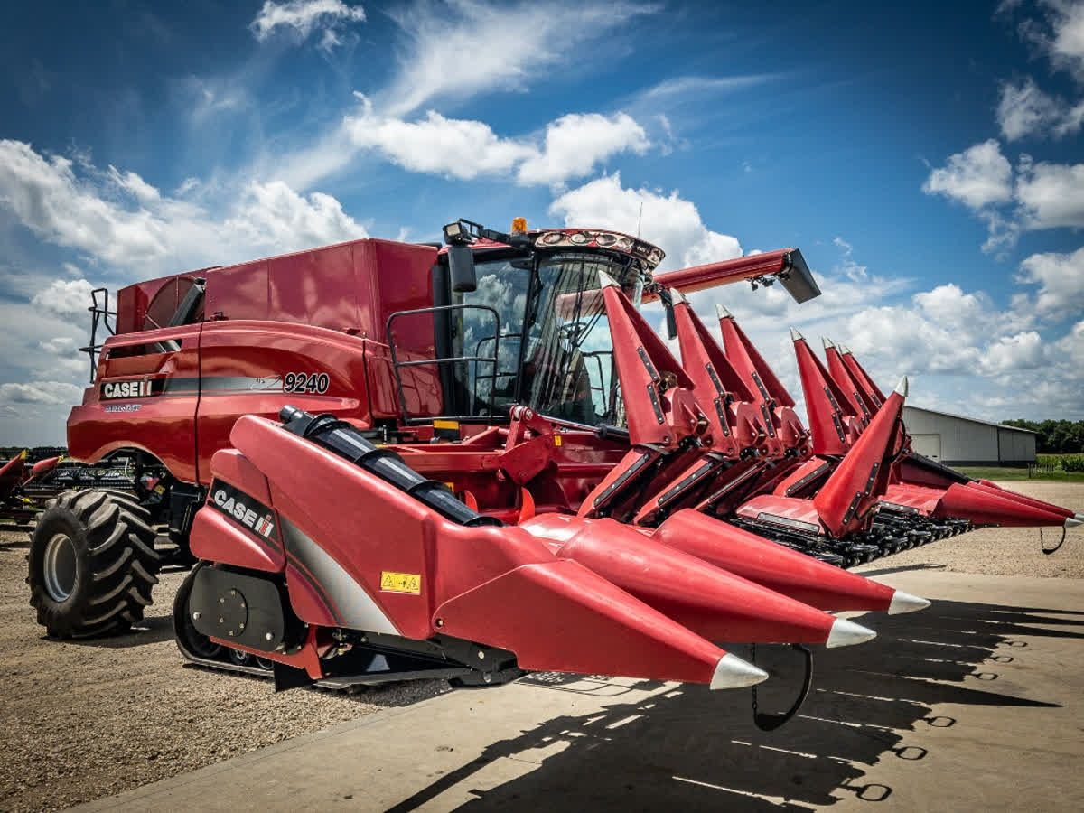 Is your combine & corn head ready for harvest? Be sure to call your
