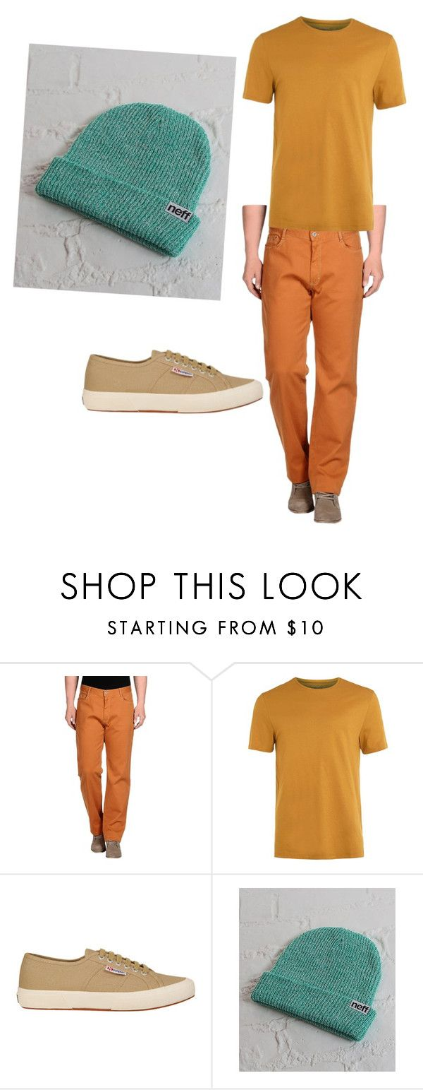 """""""Snow White and the Seven Dwarves- Bashful"""" by anna-oliphant-dun on Polyvore featuring Harmont & Blaine, Topman, Superga, Neff, mens, men, men's wear, mens wear, male and mens clothing"""