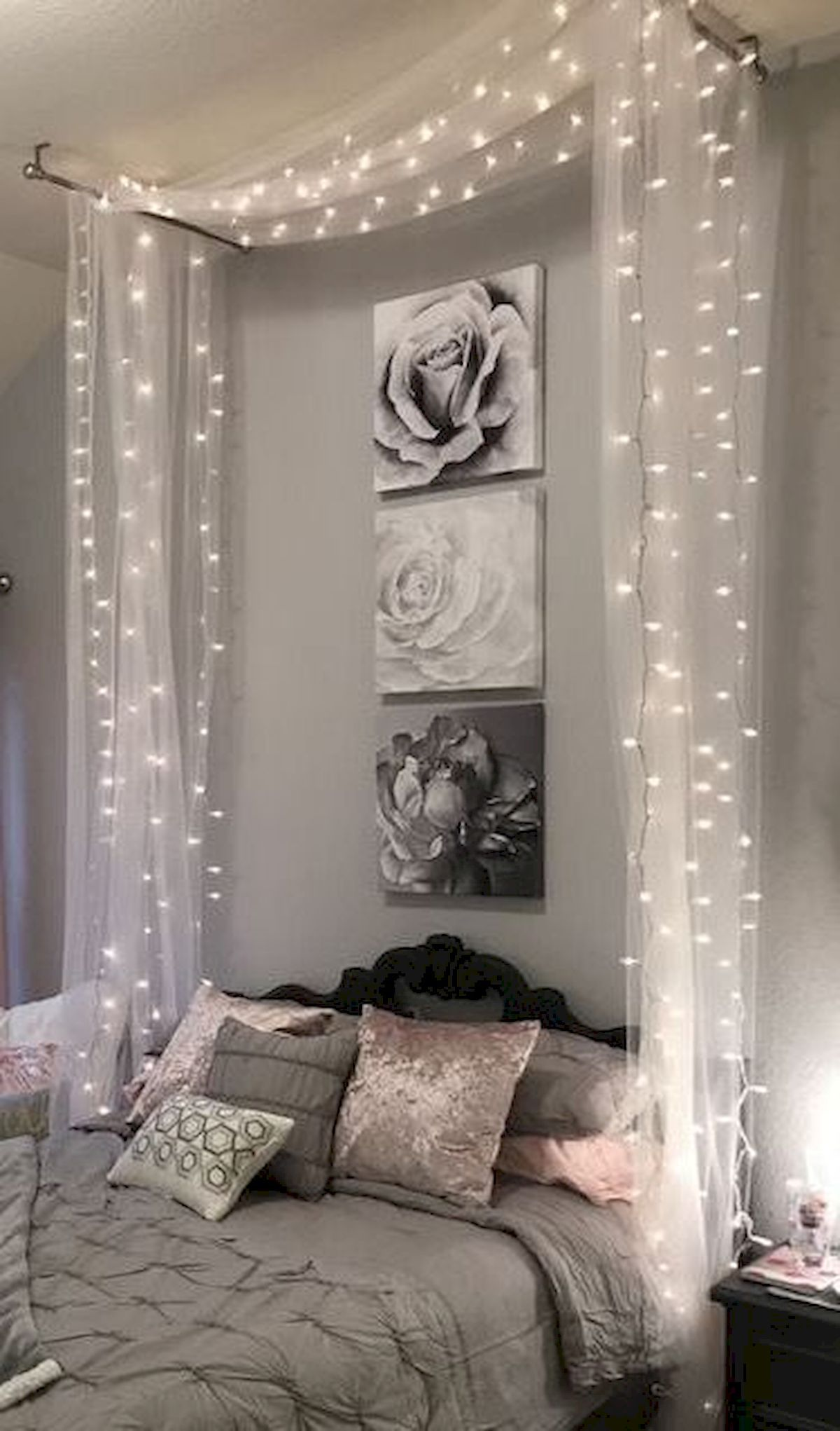 Beach home-decor Coastal Style is part of Coastal Home Decor Accessoriesbella Coastal Decor - 30 Beautifull DIY Bedroom Fairy Lights