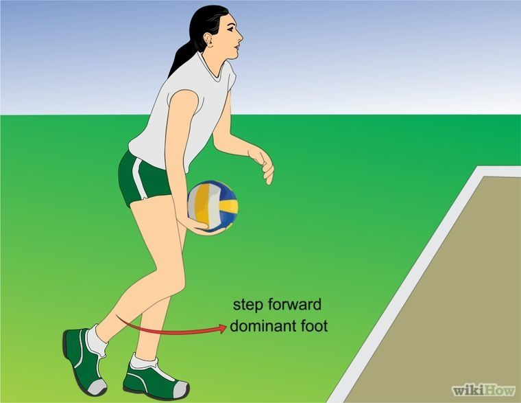 how to serve a volleyball harder