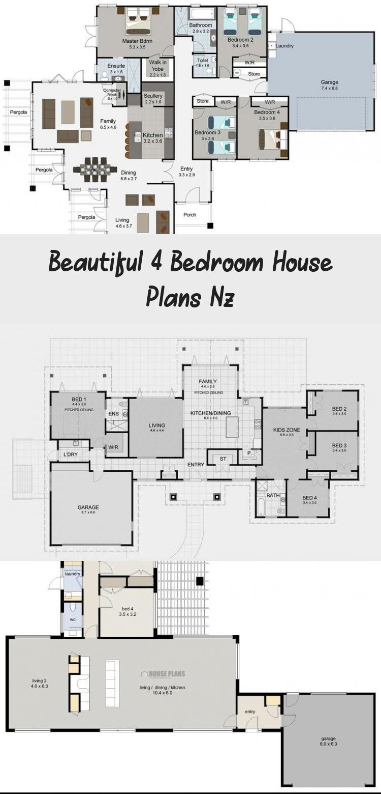 4 Bedroom House Plans Nz Fresh Zen Lifestyle 5 5 Bedroom House Plans New Zealand Ltd Floorplan In 2020 4 Bedroom House Plans 5 Bedroom House Plans Bedroom House Plans