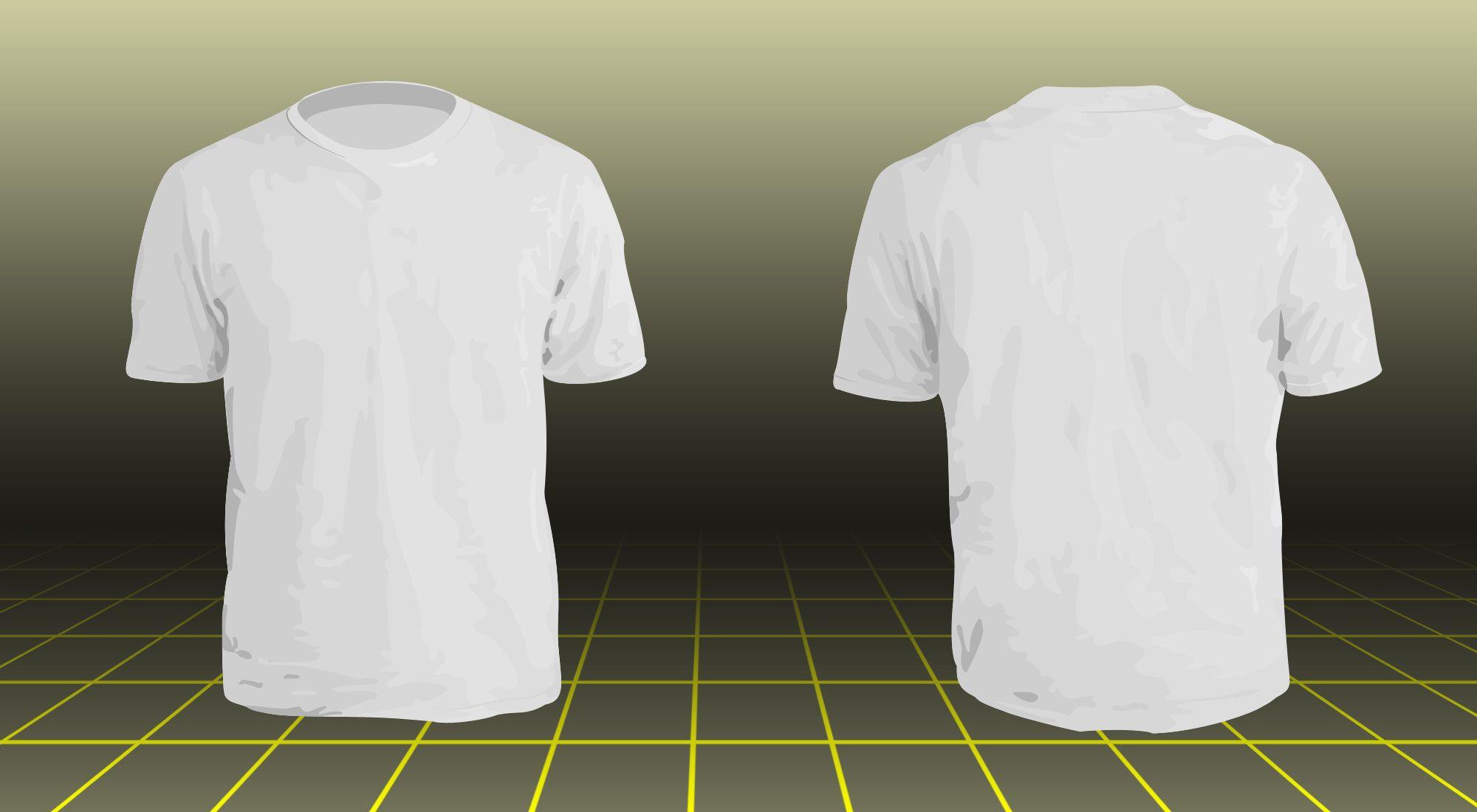 Download Tshirt Model By Nx57 Deviantart Com Kaos Vintage Outfits Desain