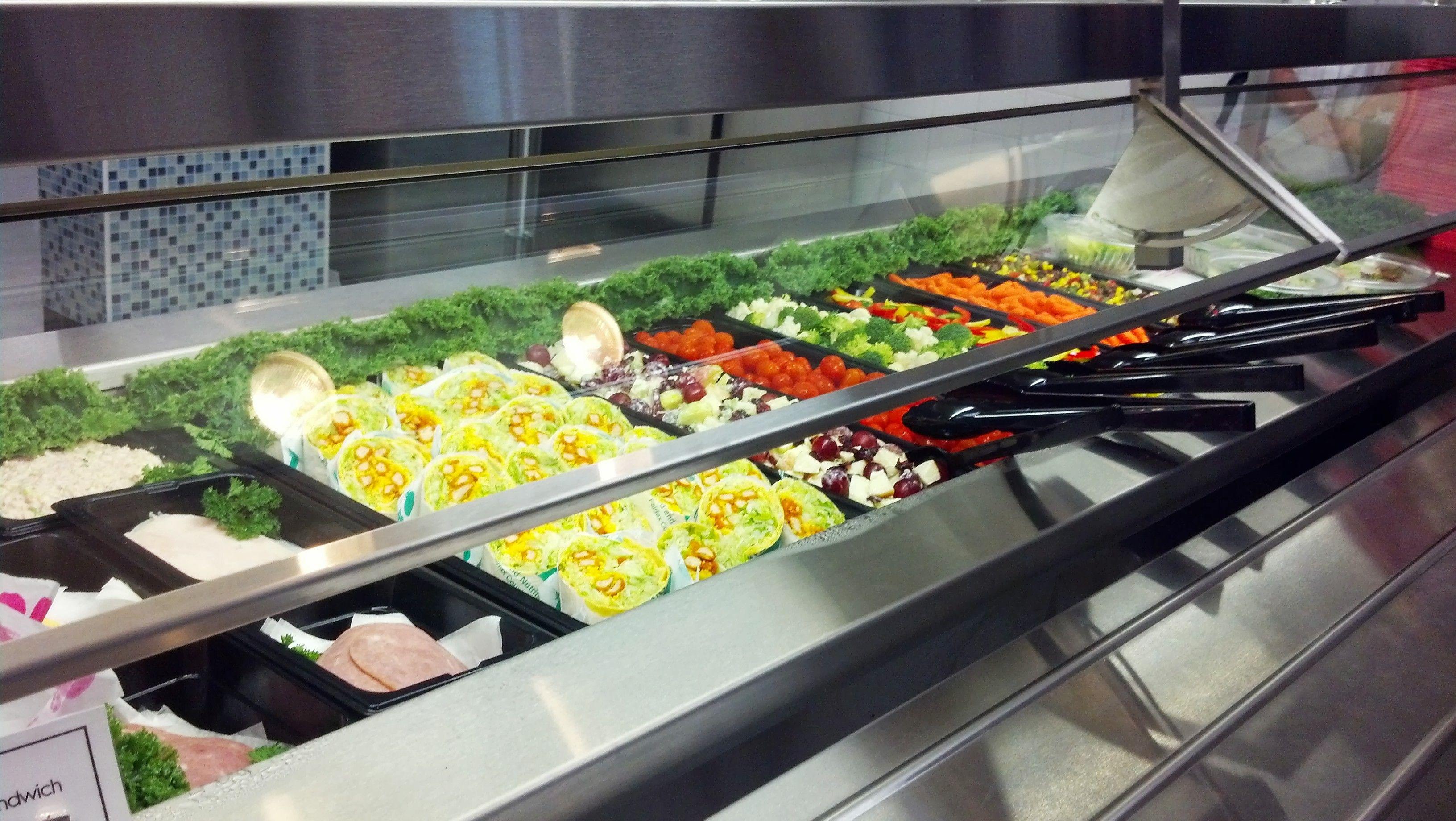 Fabulous Beautiful Salad Bar Wrap Station At Marshall High School Home Interior And Landscaping Palasignezvosmurscom