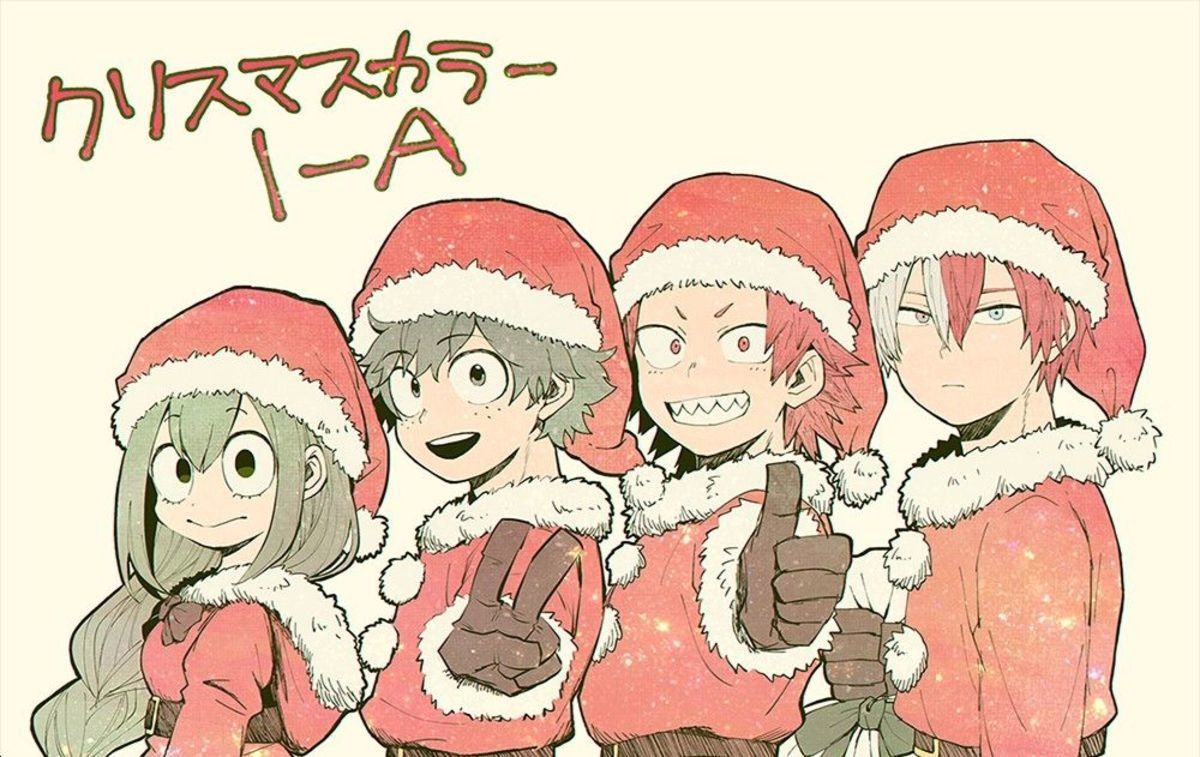 My Hero Academia Christmas Mega Comp My Hero My Hero Academia Tsuyu Hero