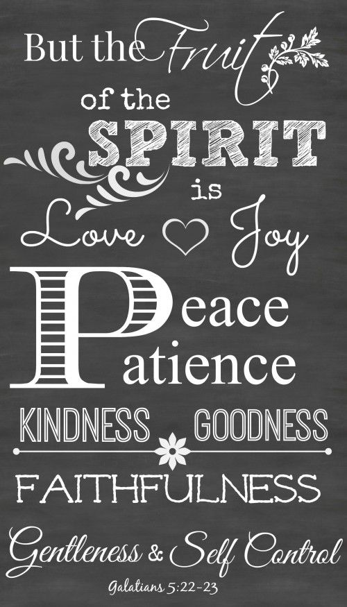 The Fruit Of The Spirit Printable Chalkboard Art Stonegable Chalkboard Scripture Scripture Printables Spirit Signs