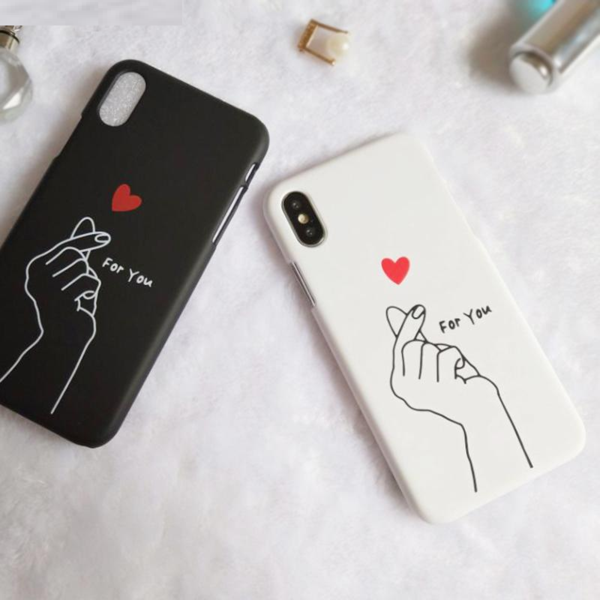 639e26f309 Heart Couple iPhone X Case in 2019 | IPHONE X CASE | Couples phone ...