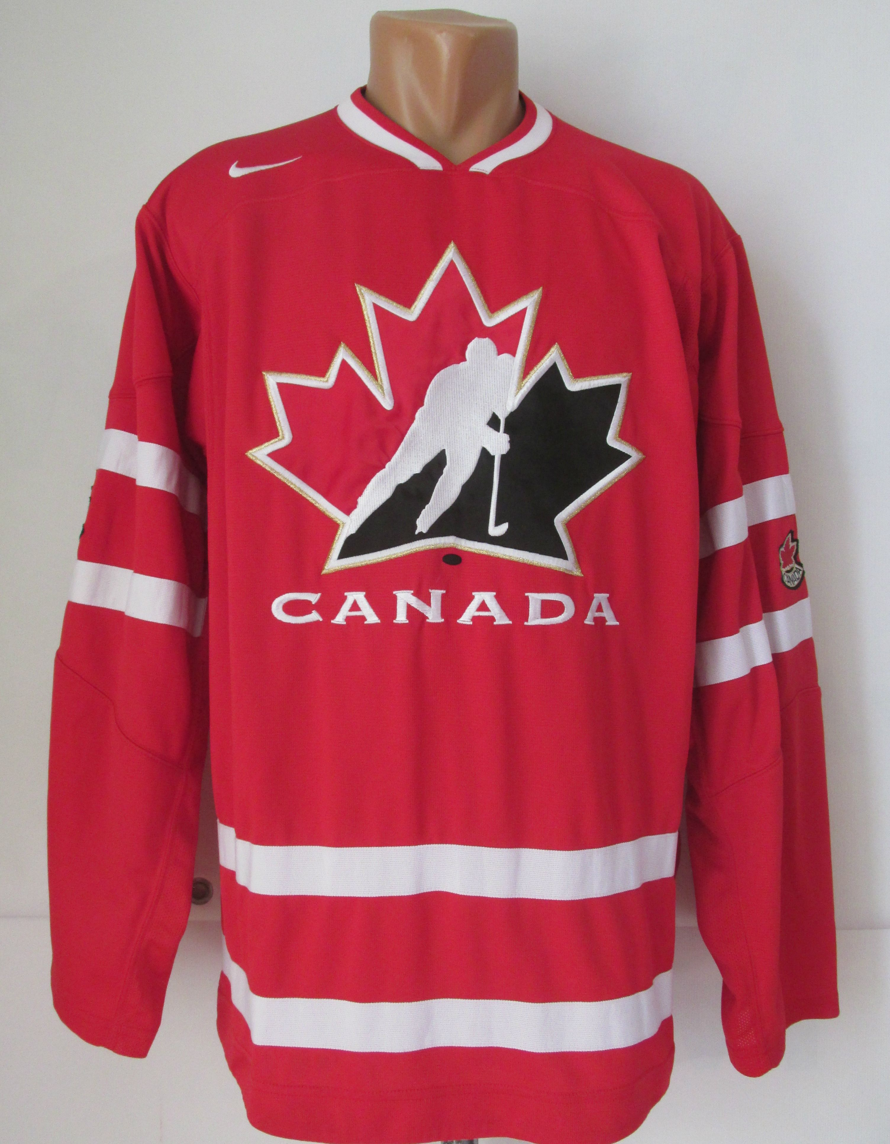 Canada 2008 2009 Ice Hockey Jersey By Nike Iihf Patchred Red Can Teamcanada Canada Teamcanada Nike Hockey Team Canada Team Canada Hockey Team Usa Hockey