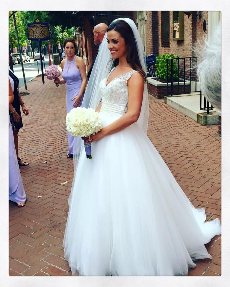 Look How #Lovely Mallery Looked In Her Allure Bridals