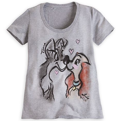 Lady and the Tramp Tee for Women - I don't think I saw this at WDW but I need it ;-)