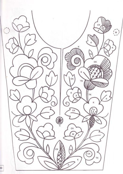 bordado | camisa | Pinterest | Bordado, Bordado mexicano patrones y ...
