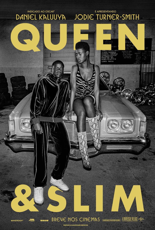 Confira O Cartaz De Queeneslim Com Daniel Kaluuya E Jodie Turner