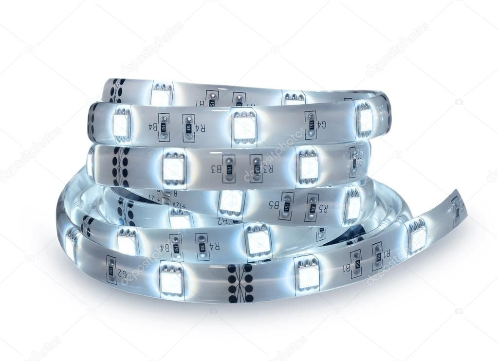 Led Strip Coil Isolated Stock Photo Ad Coil Strip Led Photo Ad 12v Led Lights Led Lighting Diy Camping Lights
