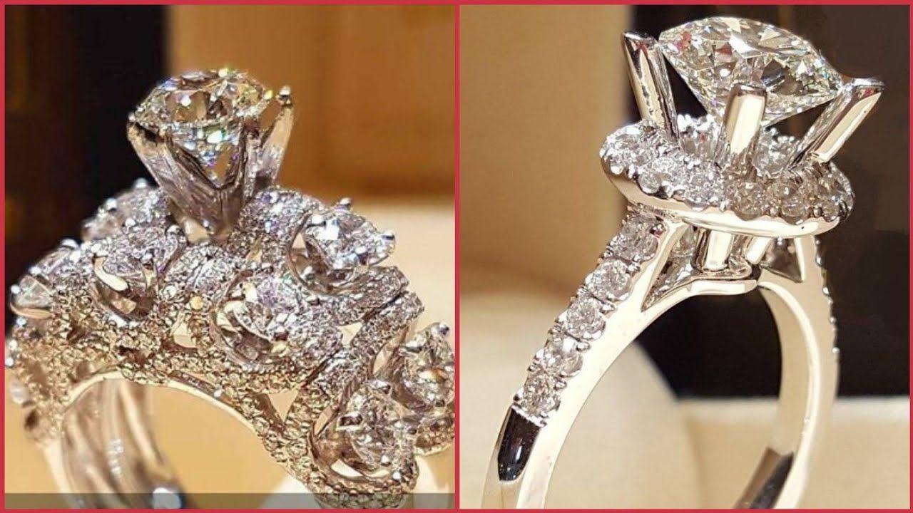Beautiful Natural Diamond Engagement Rings Designs Ideas