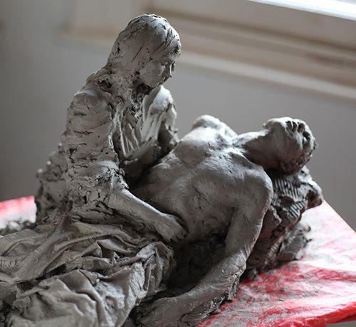 Pieta for a Fallen Soldier