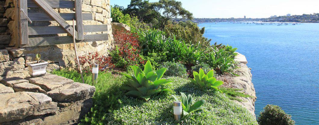 Waterfront Landscaping Sydney Burraneer Bay Views Impressions Landscape Design Landscape Design Bay View Backyard