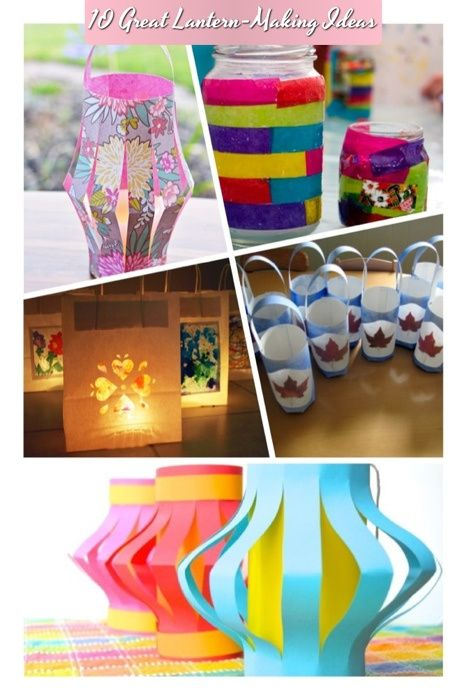 Creative Ideas To Make Your Own Lantern Diy Lantern Making For Kids