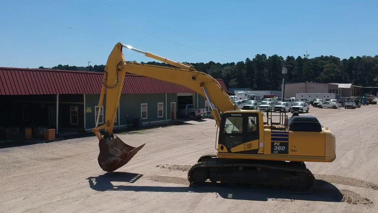 2015 KOMATSU PC360LC11 selling at auction 9/13 stock