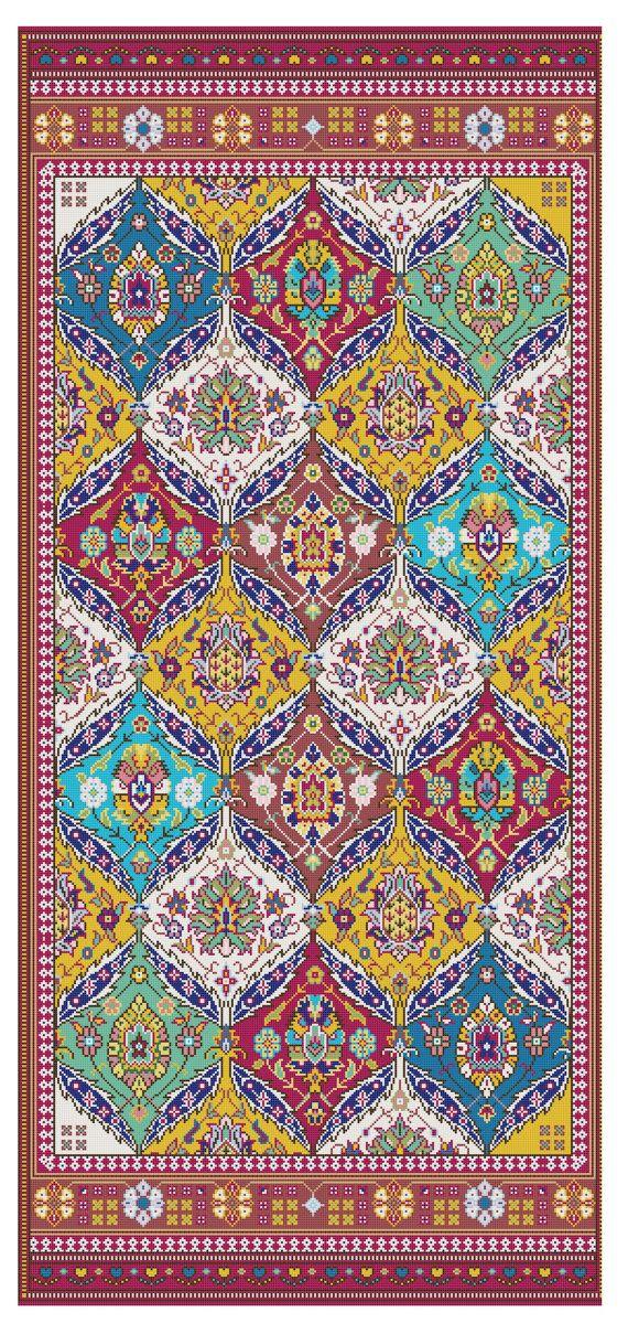 Arabian Nights Rug Magic Carpet Tapestry By