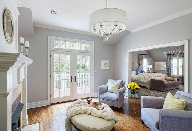 Best Ben Moore Shoreline Bedroom With Sitting Area Bedroom 400 x 300