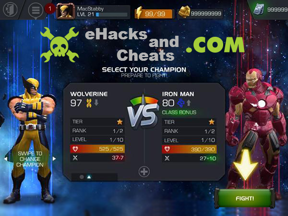 Marvel Contest of Champions Hack Trainer