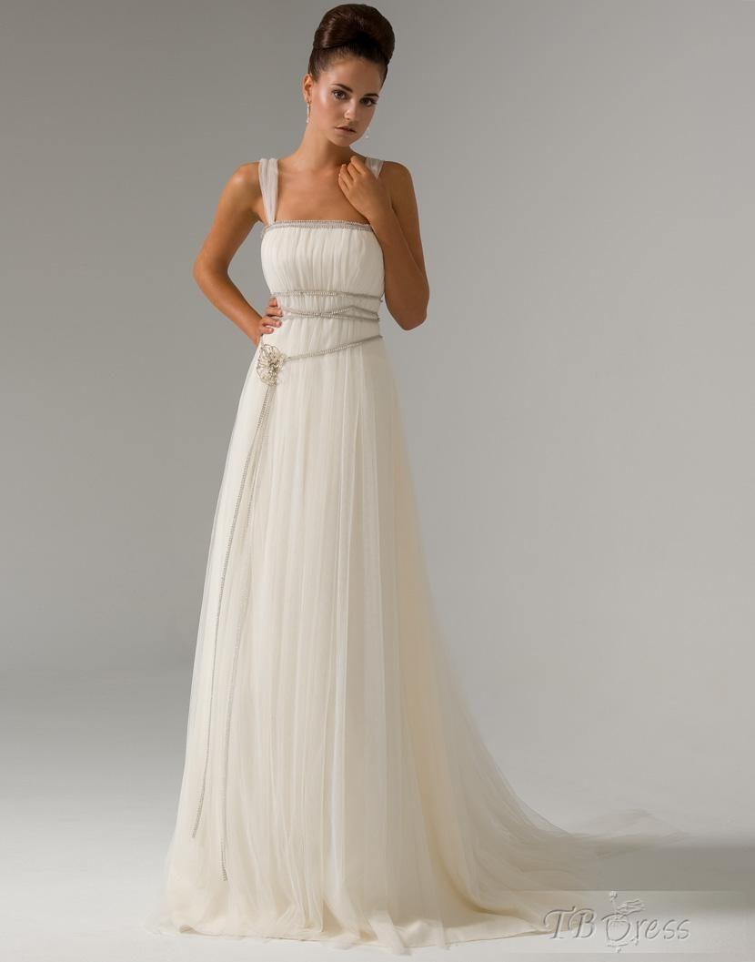 So Pretty Detailed Wedding Dress Wedding Dresses Grecian Wedding [ 1057 x 830 Pixel ]