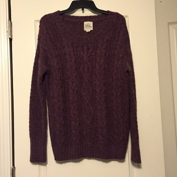 Between me & you sweater Worn but in great condition! Between me & you Tops