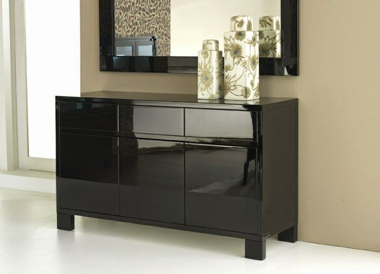 Stylish Black Sideboard Ideas For Elegant Interior Design