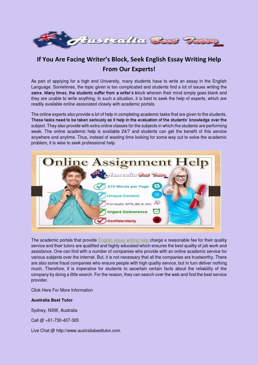 English thesis help