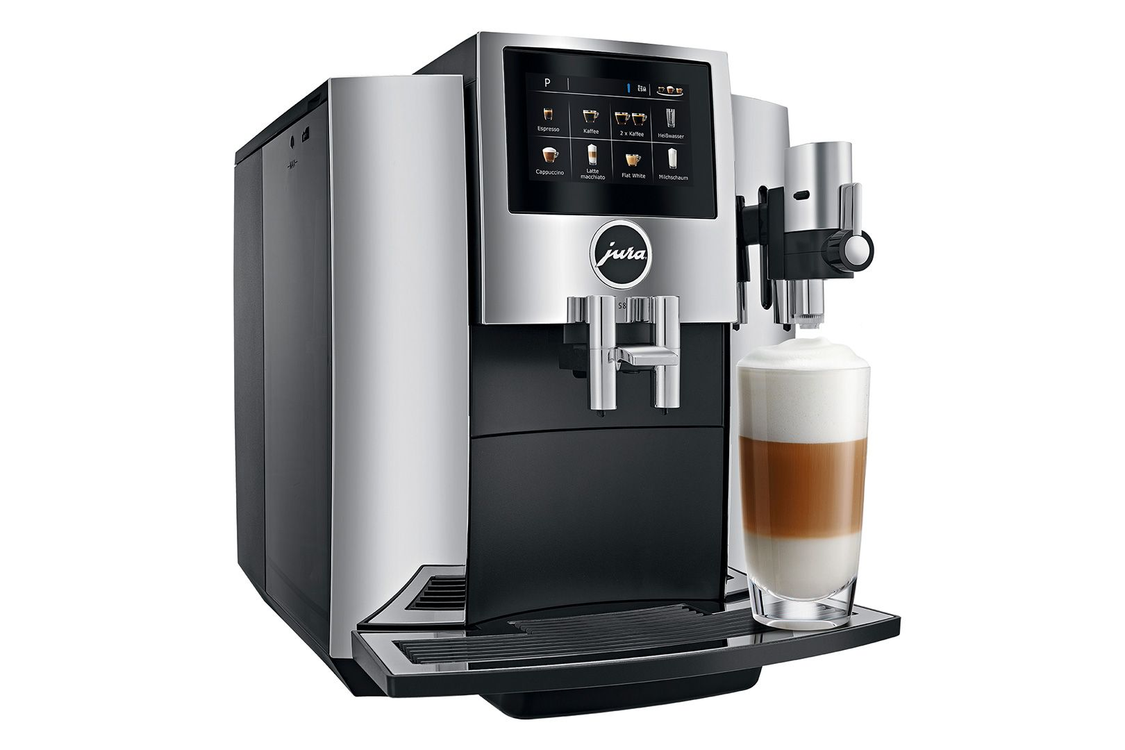 Review Jura S8 automatic coffee machine makes the best