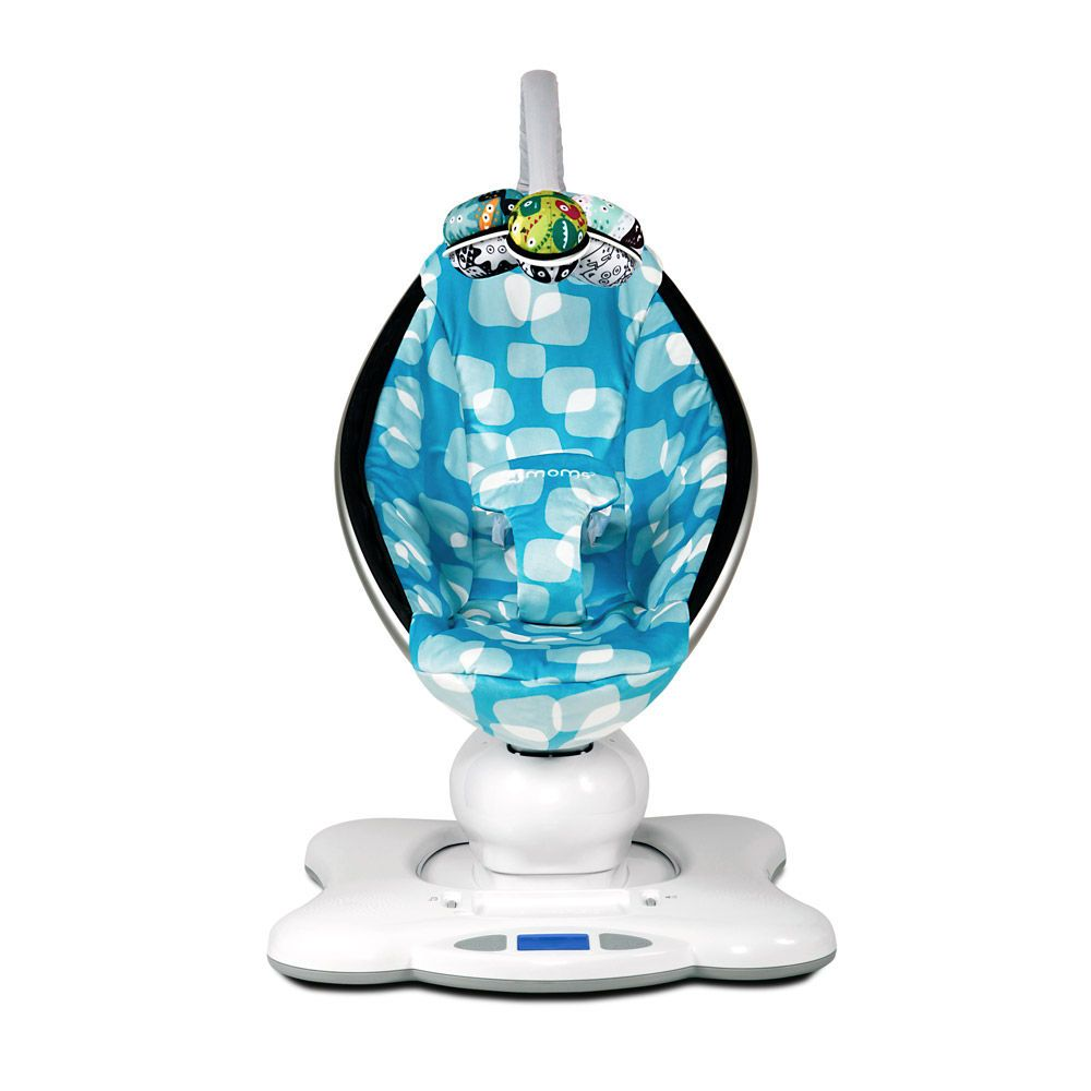4Moms mamaRoo Plush Bouncer in Fall 2012 from giggle