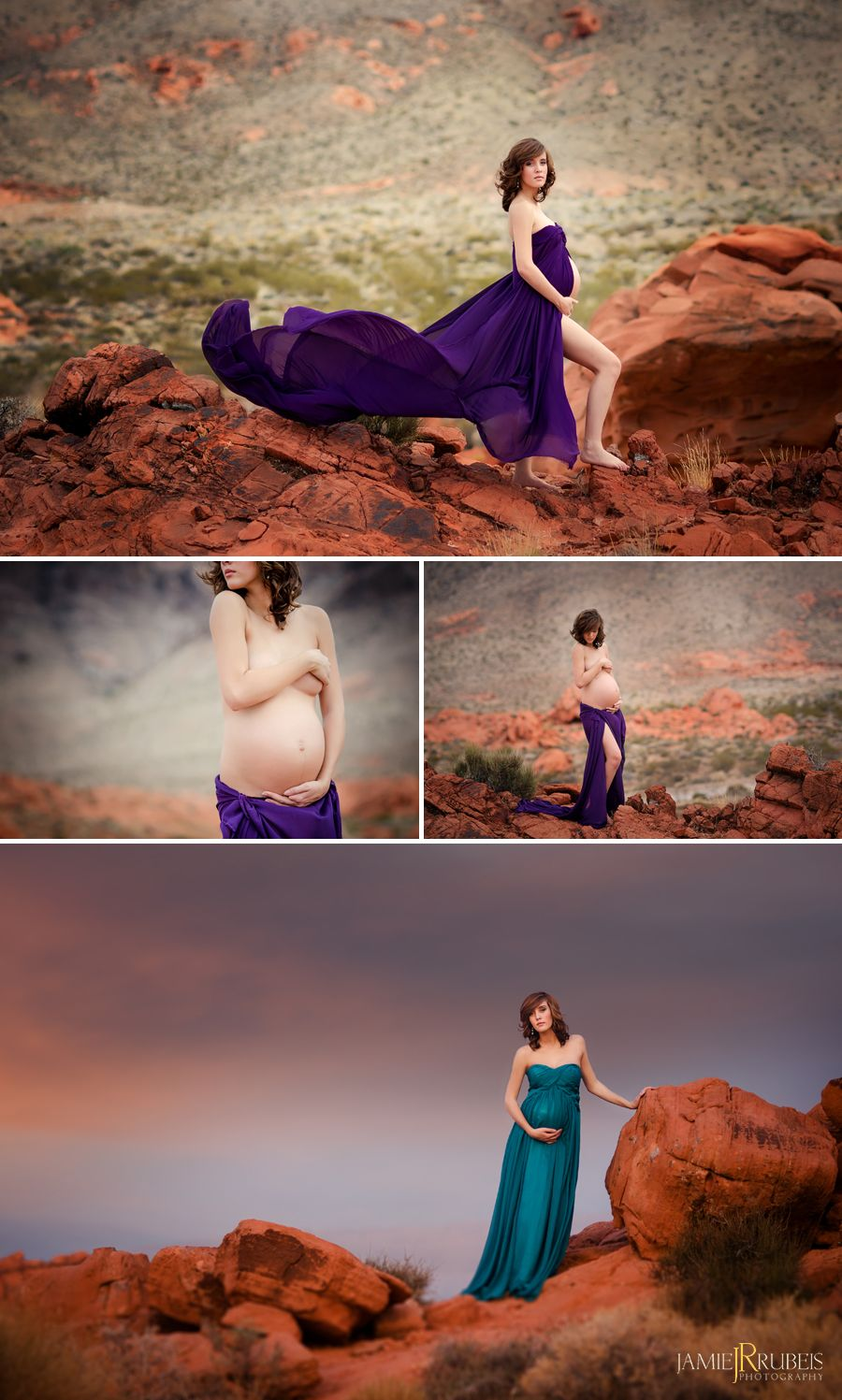 Red Rock Maternity Session | Las Vegas Maternity