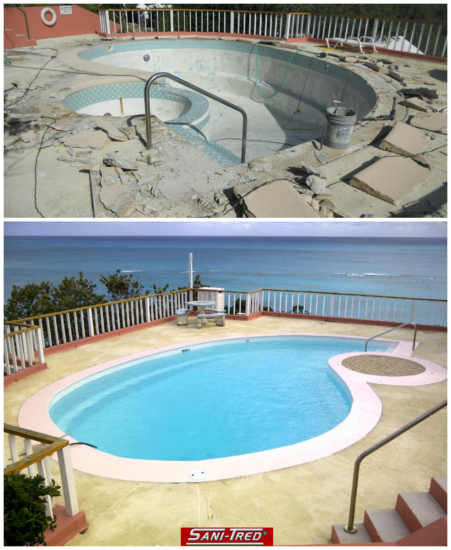 Waterproofing For Pools : Waterproofing paint swimming pool repair